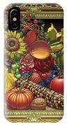 Cornucopia Overflowing IPhone Case