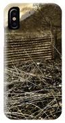 Corrugated Tin Pen IPhone Case