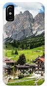 Cortina D'ampezzo, Italy IPhone Case