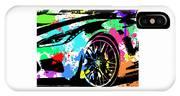 Corvette Pop Art 3 IPhone Case