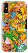 Cosmic Dance Of Krsna  IPhone Case