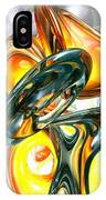 Cosmic Flame Abstract IPhone Case