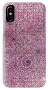 Cosmos Against Pink Mottled Glass 7-22-2015 #1 IPhone Case