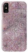 Cosmos Against Pink Mottled Glass 7-22-2015 #2 IPhone Case