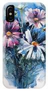 Cosmos Flowers IPhone X Case