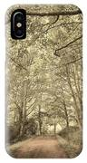 Cosy Path IPhone Case