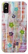 Cottage Flower Garden IPhone Case