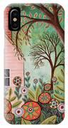 Cottage Garden 1 IPhone Case