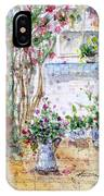 Cottage Garden IPhone Case