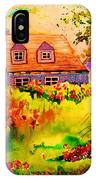 Cottage In Maine IPhone Case