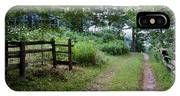 Cottage Path IPhone Case