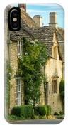 Cottage Row - Burford IPhone Case