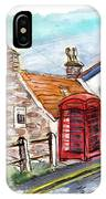 Cottages In Runswick Bay IPhone Case
