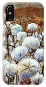 Cotton Fields IPhone Case