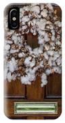 Cotton Wreath IPhone Case