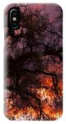 Cottonwood Sunset Silhouette IPhone Case