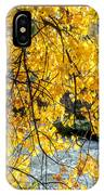 Cottonwood Tree Along The River IPhone Case