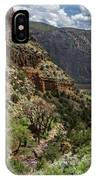 Cottonwoods In The Canyon IPhone Case