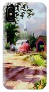 Country Covered Bridge 3 IPhone Case