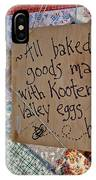 Country Farmer's Market IPhone Case