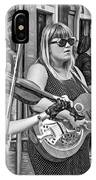 Country In The French Quarter 3 Bw IPhone Case