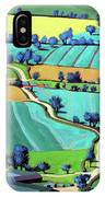 Country Lane Summer II IPhone Case