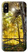 Country Morning IPhone Case
