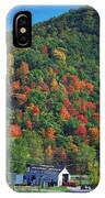 Country Road In Autumn IPhone Case