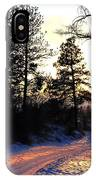 Country Road Sunset IPhone Case