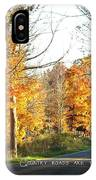 Country Roads IPhone Case