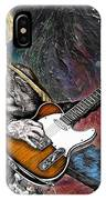 Country Rock Guitar IPhone Case