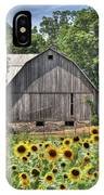 Country Sunflowers IPhone Case