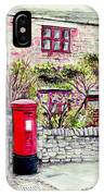 Country Village Post Box IPhone Case