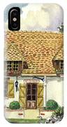 Countryside House In France IPhone Case