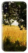 Countryside Of Italy  IPhone Case