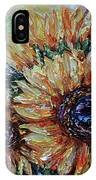 Countryside Sunflowers IPhone Case