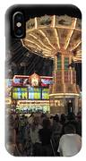 County Fair At Night IPhone Case
