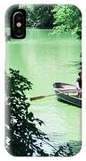 Couple Rowing IPhone Case