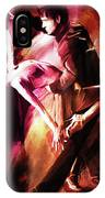 Couple Tango Art IPhone Case