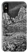 Court Of The Patriarchs II - Bw IPhone Case