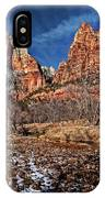 Court Of The Patriarchs II IPhone Case