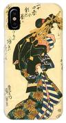 Courtesan And Riddle 1830 IPhone Case