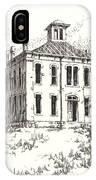 Courthouse Belmont Ghost Town Nevada IPhone Case