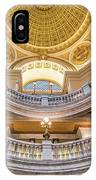 Courthouse Dome IPhone Case