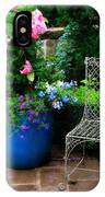 Courtyard Chair IPhone Case