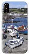 Coverack Harbour Cornwall IPhone Case