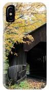 Covered Bridge Number 22 IPhone Case