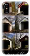 Covered Bridges Of Bucks County IPhone Case
