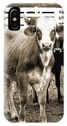 Cow Me  IPhone Case