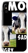 Cow Moods IPhone Case